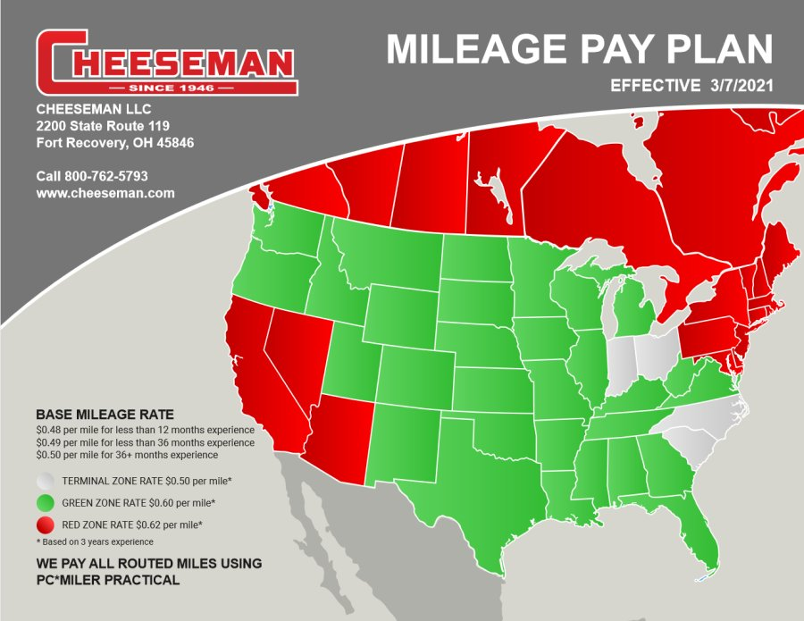 Download Our Mileage Pay Plan
